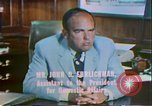 Image of President Richard Nixon Washington DC USA, 1972, second 7 stock footage video 65675056793