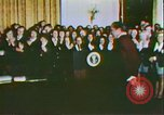Image of President Richard Nixon and the Arts United States USA, 1972, second 9 stock footage video 65675056803