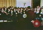 Image of President Richard Nixon and the Arts United States USA, 1972, second 11 stock footage video 65675056803