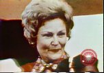 Image of First Lady Patricia Nixon United States USA, 1972, second 9 stock footage video 65675056806