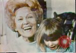 Image of First Lady Patricia Nixon United States USA, 1972, second 6 stock footage video 65675056808