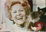 Image of First Lady Patricia Nixon United States USA, 1972, second 8 stock footage video 65675056808