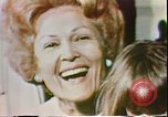 Image of First Lady Patricia Nixon United States USA, 1972, second 10 stock footage video 65675056808