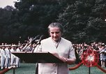 Image of Israeli Prime Minister Golda Meir Washington DC USA, 1969, second 4 stock footage video 65675056818