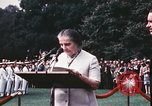 Image of Israeli Prime Minister Golda Meir Washington DC USA, 1969, second 6 stock footage video 65675056818