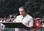 Image of Israeli Prime Minister Golda Meir Washington DC USA, 1969, second 8 stock footage video 65675056818