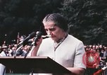 Image of Israeli Prime Minister Golda Meir Washington DC USA, 1969, second 9 stock footage video 65675056818