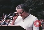 Image of Israeli Prime Minister Golda Meir Washington DC USA, 1969, second 10 stock footage video 65675056818