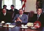 Image of President Richard Nixon Washington DC USA, 1972, second 7 stock footage video 65675056830