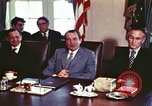 Image of President Richard Nixon Washington DC USA, 1972, second 8 stock footage video 65675056830