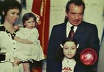 Image of President Richard Nixon Washington DC USA, 1972, second 1 stock footage video 65675056838