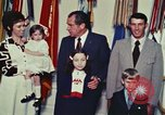 Image of President Richard Nixon Washington DC USA, 1972, second 4 stock footage video 65675056838