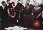 Image of President Richard Nixon Washington DC USA, 1972, second 6 stock footage video 65675056842