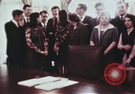 Image of President Richard Nixon Washington DC USA, 1972, second 8 stock footage video 65675056842