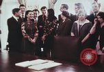 Image of President Richard Nixon Washington DC USA, 1972, second 9 stock footage video 65675056842