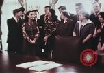 Image of President Richard Nixon Washington DC USA, 1972, second 10 stock footage video 65675056842