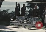 Image of President Richard Nixon San Clemente California USA, 1973, second 11 stock footage video 65675056848