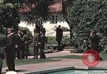 Image of President Richard Nixon San Clemente California USA, 1973, second 8 stock footage video 65675056849