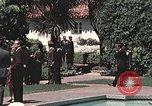 Image of President Richard Nixon San Clemente California USA, 1973, second 10 stock footage video 65675056849