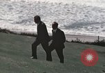 Image of President Richard Nixon San Clemente California USA, 1973, second 4 stock footage video 65675056850