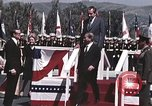 Image of President Richard Nixon San Clemente California USA, 1973, second 2 stock footage video 65675056853
