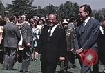 Image of President Richard Nixon San Clemente California USA, 1973, second 7 stock footage video 65675056853