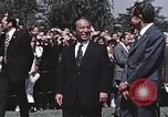 Image of President Richard Nixon San Clemente California USA, 1973, second 9 stock footage video 65675056853