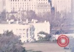 Image of White House Washington DC USA, 1972, second 1 stock footage video 65675056873