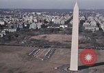 Image of Washington Monument and Potomac River Washington DC USA, 1972, second 4 stock footage video 65675056875