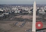 Image of Washington Monument and Potomac River Washington DC USA, 1972, second 9 stock footage video 65675056875