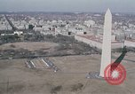 Image of Marine One Helicopter flight Washington DC USA, 1972, second 9 stock footage video 65675056883