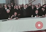 Image of President Richard Nixon Moscow Russia Soviet Union, 1972, second 12 stock footage video 65675056903