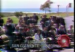 Image of President Richard Nixon San Clemente California USA, 1973, second 4 stock footage video 65675056926