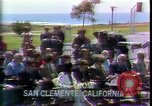 Image of President Richard Nixon San Clemente California USA, 1973, second 6 stock footage video 65675056926