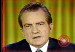 Image of Nixon's speech Washington DC USA, 1973, second 2 stock footage video 65675056953