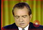 Image of Nixon's speech Washington DC USA, 1973, second 5 stock footage video 65675056953