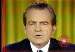 Image of Nixon's speech Washington DC USA, 1973, second 7 stock footage video 65675056953