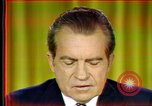 Image of Nixon's speech Washington DC USA, 1973, second 12 stock footage video 65675056953