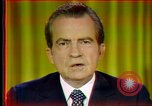 Image of Nixon's speech Washington DC USA, 1973, second 7 stock footage video 65675056954