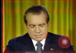 Image of Nixon's presidency's calendar Washington DC USA, 1973, second 2 stock footage video 65675056957