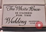 Image of Tricia's wedding day Washington DC USA, 1971, second 3 stock footage video 65675056987