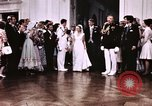 Image of Tricia's first dance of wedding Washington DC USA, 1971, second 6 stock footage video 65675056991
