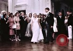 Image of Tricia's first dance of wedding Washington DC USA, 1971, second 10 stock footage video 65675056991