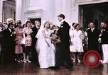 Image of Tricia's first dance of wedding Washington DC USA, 1971, second 11 stock footage video 65675056991