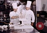 Image of Tricia's wedding cake preparation Washington DC USA, 1971, second 12 stock footage video 65675056994