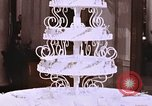 Image of Tricia's wedding cake Washington DC USA, 1971, second 7 stock footage video 65675057001