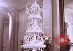Image of Tricia's wedding cake Washington DC, 1971, second 11 stock footage video 65675057001