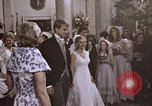 Image of Tricia's wedding cake Washington DC USA, 1971, second 1 stock footage video 65675057003