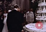 Image of Tricia's wedding cake Washington DC USA, 1971, second 5 stock footage video 65675057003