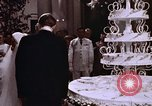 Image of Tricia's wedding cake Washington DC USA, 1971, second 6 stock footage video 65675057003